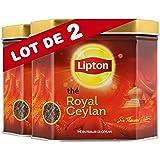 Lipton Thé Noir Royal Ceylan 200g Vrac - Lot de 2