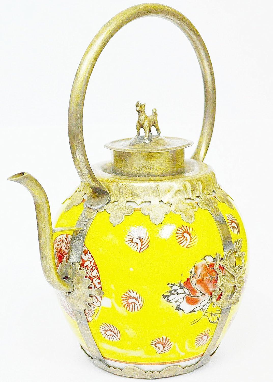 Amazon.com: China Teapot Chinese Tibet Porcelain Dragon Teapot for ...