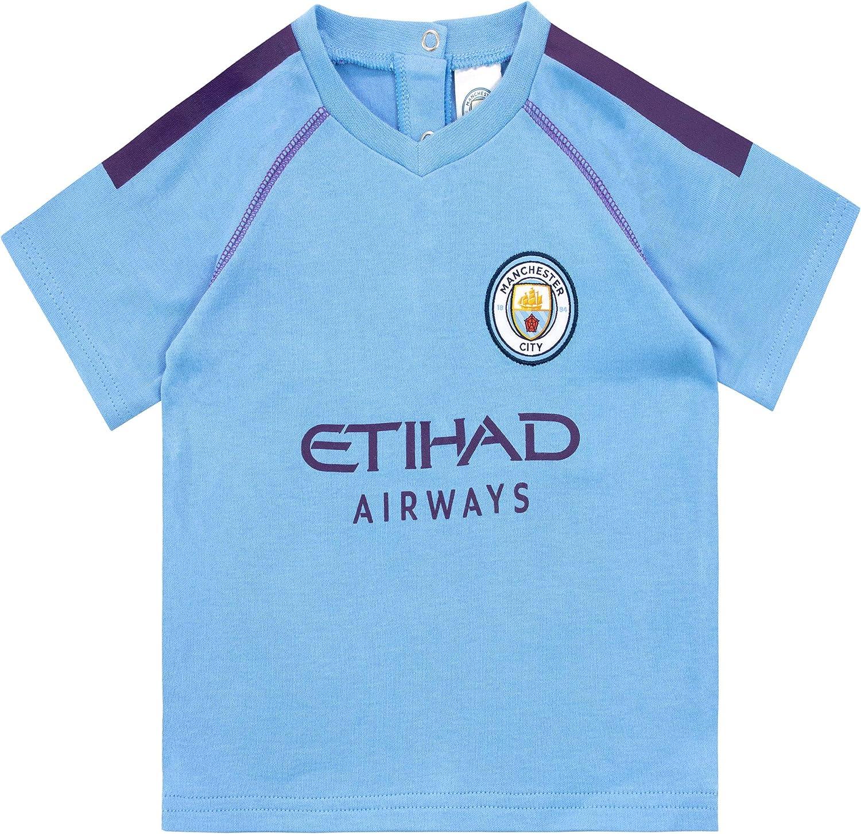 Manchester City FC Pijama Entera para Ni/ños Beb/és