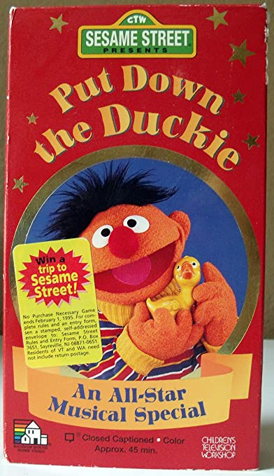Amazon com: Sesame Street Presents Put Down the Duckie [VHS