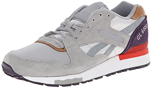 the latest 30511 e9f5d Reebok Women s GL 6000 Camo Classic Shoe,Steel Tin Grey Flat Grey