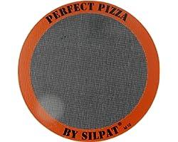 "Silpat Perfect Pizza Non-Stick Silicone Baking Mat, 12"" Round"