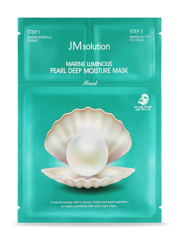 Amazon.com : JM Solution Marine Luminous Pearl Deep Moisture 3 Step ...