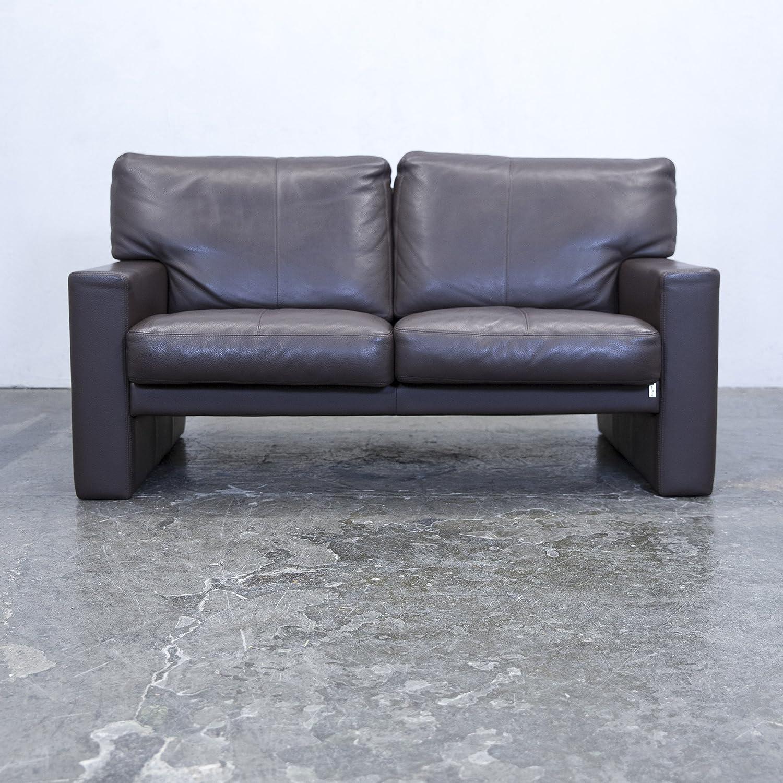 Liebenswert Breites Sofa Sammlung Von Conceptreview: Erpo Designer Leder Braun Zweisitzer Couch