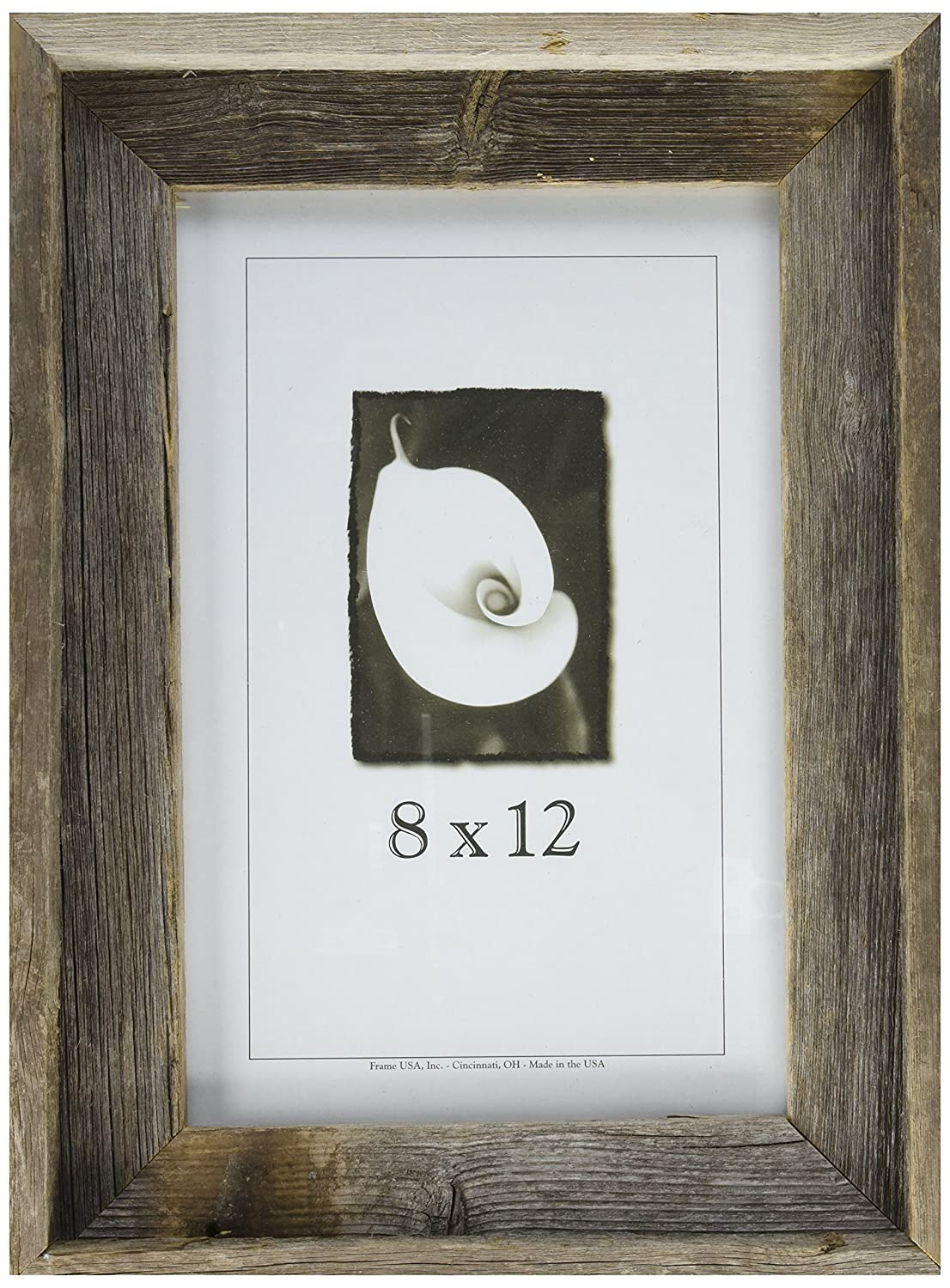 Amazon.com - 8x12 Picture Frames - Barnwood Frames -