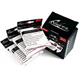 300 Apollo Clear Card Sleeves - Ultra Transparent Standard Deck Protectors (3x100 Pack) - Pro Use