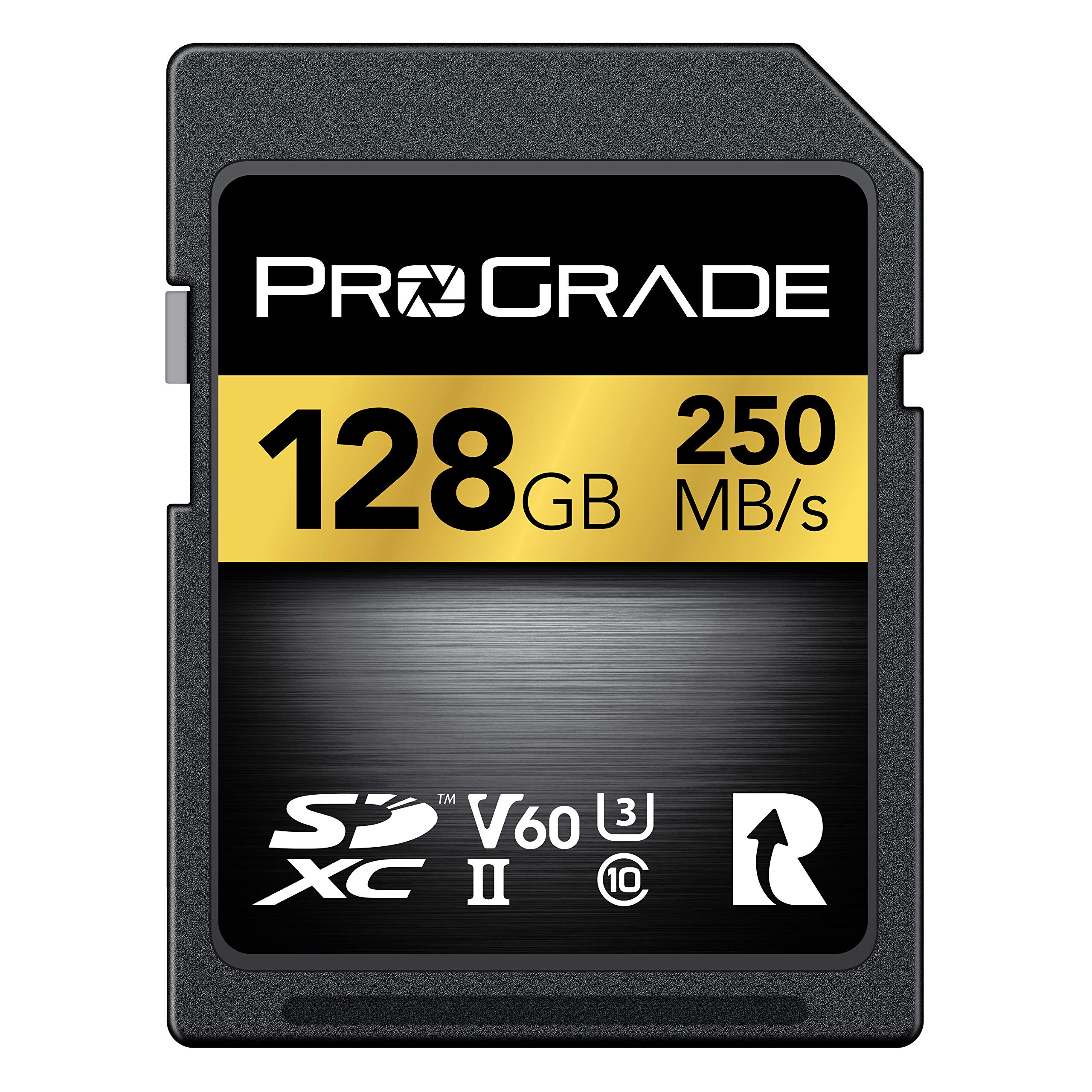 SD Card V60 (128GB) -Up to 130MB/s Write Speed and 250MB/s Read Speed | for Professional Vloggers, Filmmakers, Photographers & Content Curators - Update Firmware Included - by ProGrade Digital by ProGrade Digital