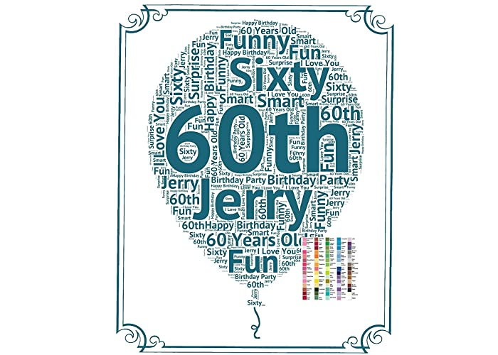 60th Birthday Gifts Gift Ideas 60 Personalized