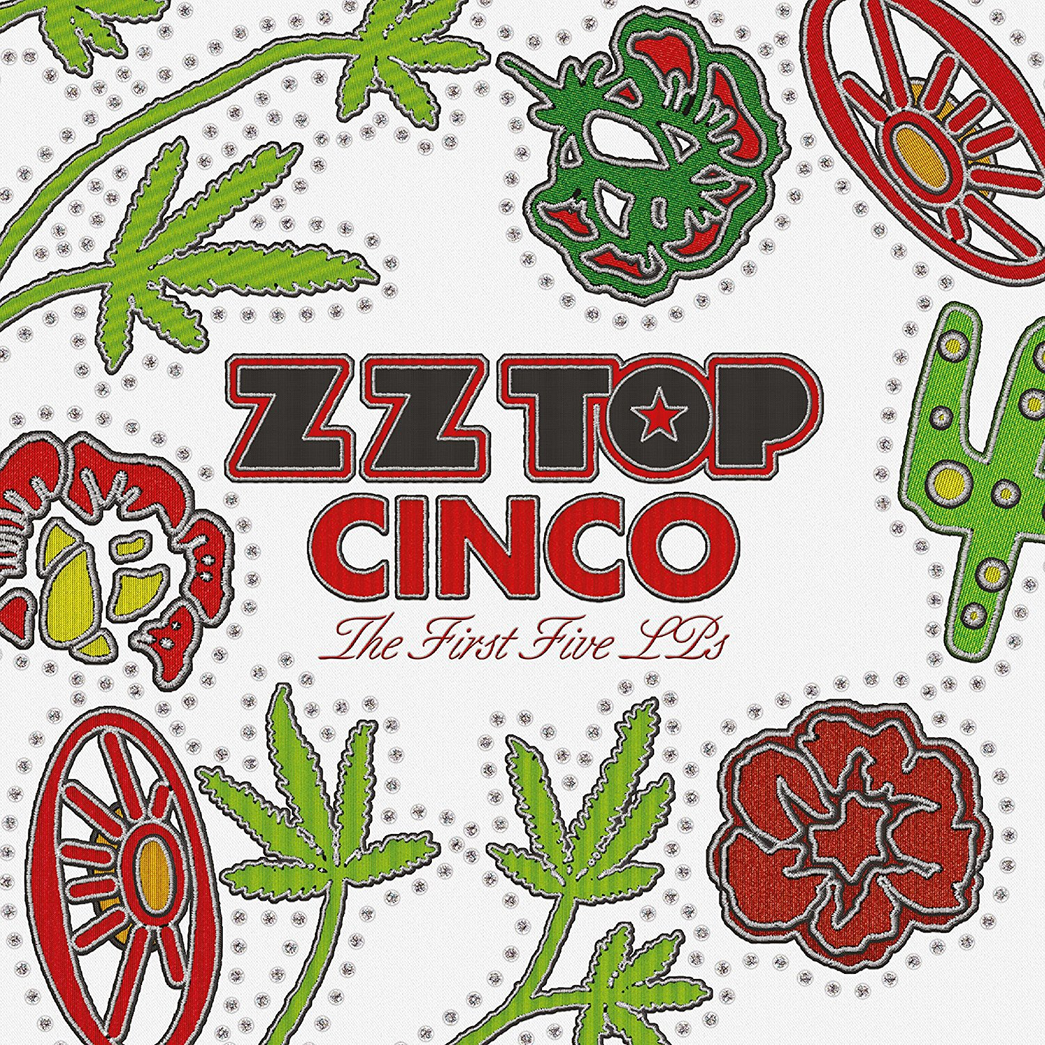 Vinilo : ZZ Top - Cinco: The First Five Lps (United Kingdom - Import, Oversize Item Split)