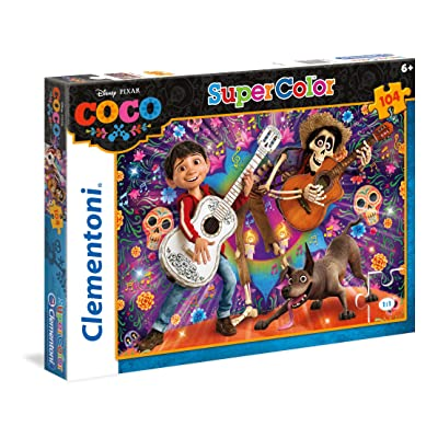 Clementoni Supercolor Puzzle - Coco - 104 Pièces - Disney, 27095, Multi-Colour