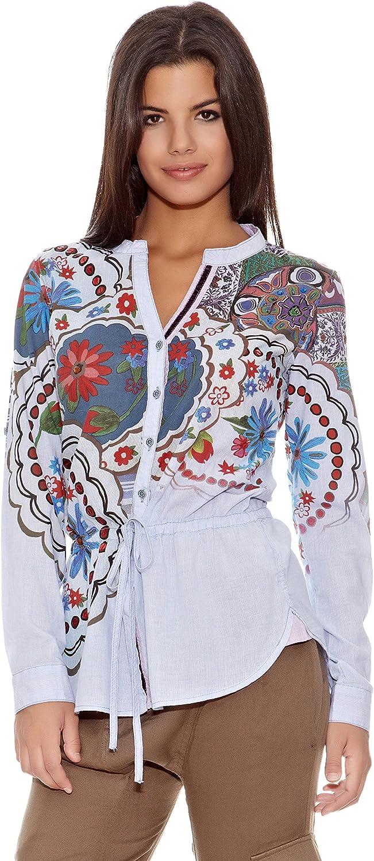 Desigual Camisa Mujer Turquia: Amazon.es: Ropa y accesorios
