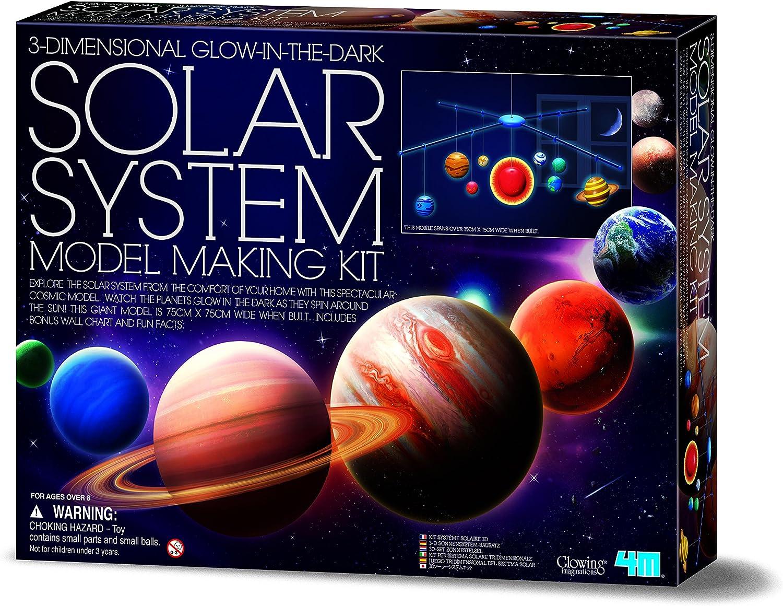 4M - Móvil de Sistema Solar 3D: Amazon.es: Juguetes y juegos