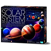 4M-00-05520 3D Glow in the Dark Solar System Mobile Making Kit; Fun Science 3D Solar System Mobile Making Kit…