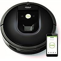 iRobot Roomba 981 - Robot aspirador para alfombras, potencia de succión 10 veces superior, cepillos de goma antienredos, múltiples habitaciones, Dirt Detect, conexión Wifi, programable por app