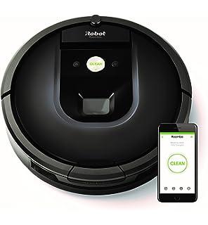 iRobot Roomba 981 Robot Aspirador para Alfombras con Potencia de Succión y Cepillos de Goma…