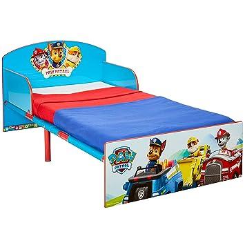 Paw Patrol Bett für Kleinkinder, Holz, blau, 143 x 77 x 42.5 cm