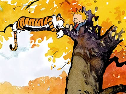 Amazoncom XH2976 Calvin And Hobbes On The Tree HUGE GIANT WALL