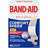 Amazon Price History for:BAND-AID Sheer Strips Adhesive Bandages, All One Size 40 ea ( Pack of 1)