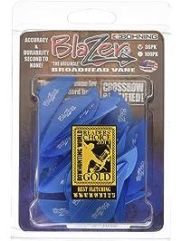Bohning Blazer Vane (Pack of 3), Black