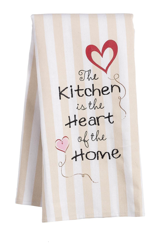 Remarkable Amazon Com Ganz Bake Shop Hand Towels Set Of 3 Home Kitchen Home Interior And Landscaping Eliaenasavecom