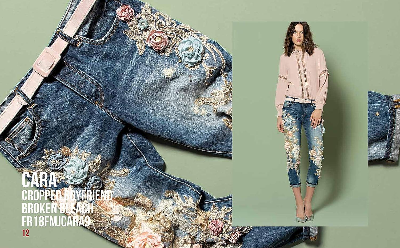 Fracomina Jeans Denim Donna Art FR18FMJCARA9 Autunno Inverno