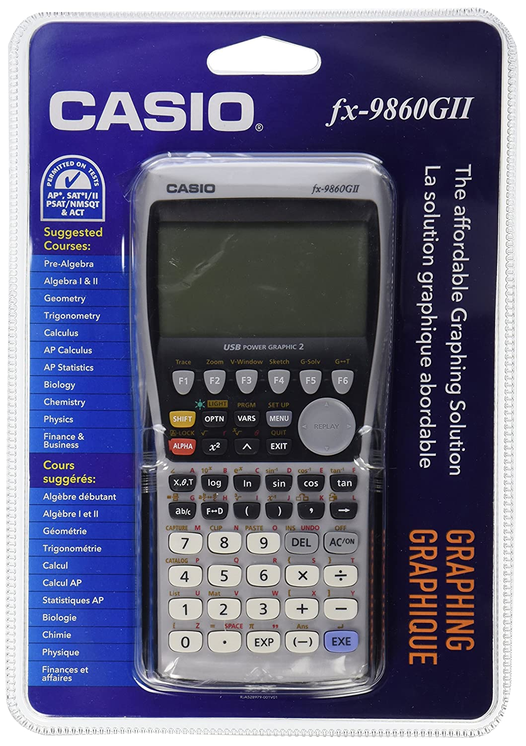 Amazon.com: Casio fx-9860GII Graphing Calculator, Black: Office Products