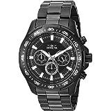 Invicta Men's Speedway 48mm Stainless Steel Chronograph Quartz Watch, Black (Model: 22785)