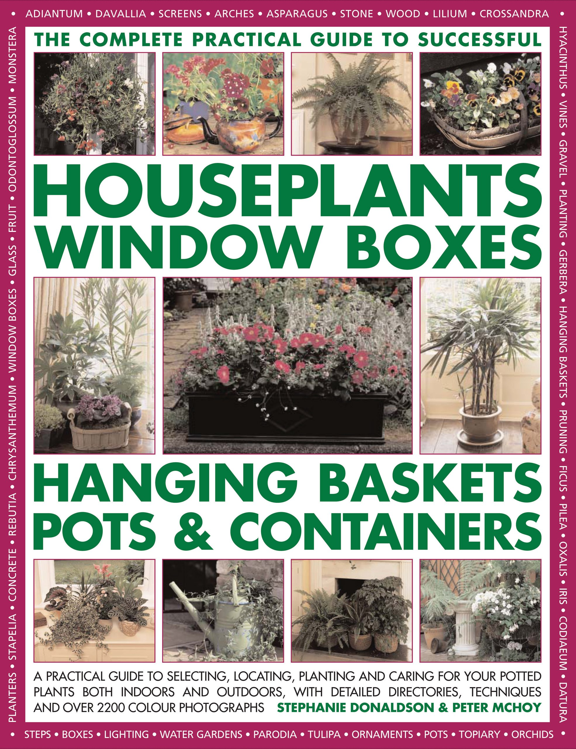 Successful Houseplants, Window Boxes, Hanging Baskets, Pots & Containers, Complete Practical Guide: A practical guide to selecting, locating, planting and tips, and over 2200 color photographs