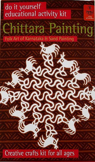 Buy potli diy indian art kit chittara painting multi color online buy potli diy indian art kit chittara painting multi color online at low prices in india amazon solutioingenieria Choice Image