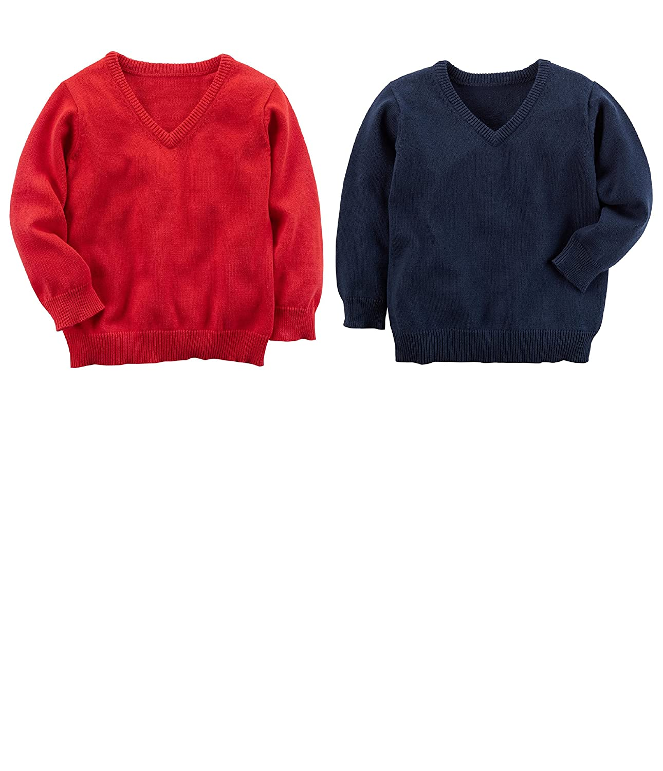 be9394d81 Amazon.com: Carter's Toddler Boys 2 Pack Warm Pullover Sweaters: Clothing