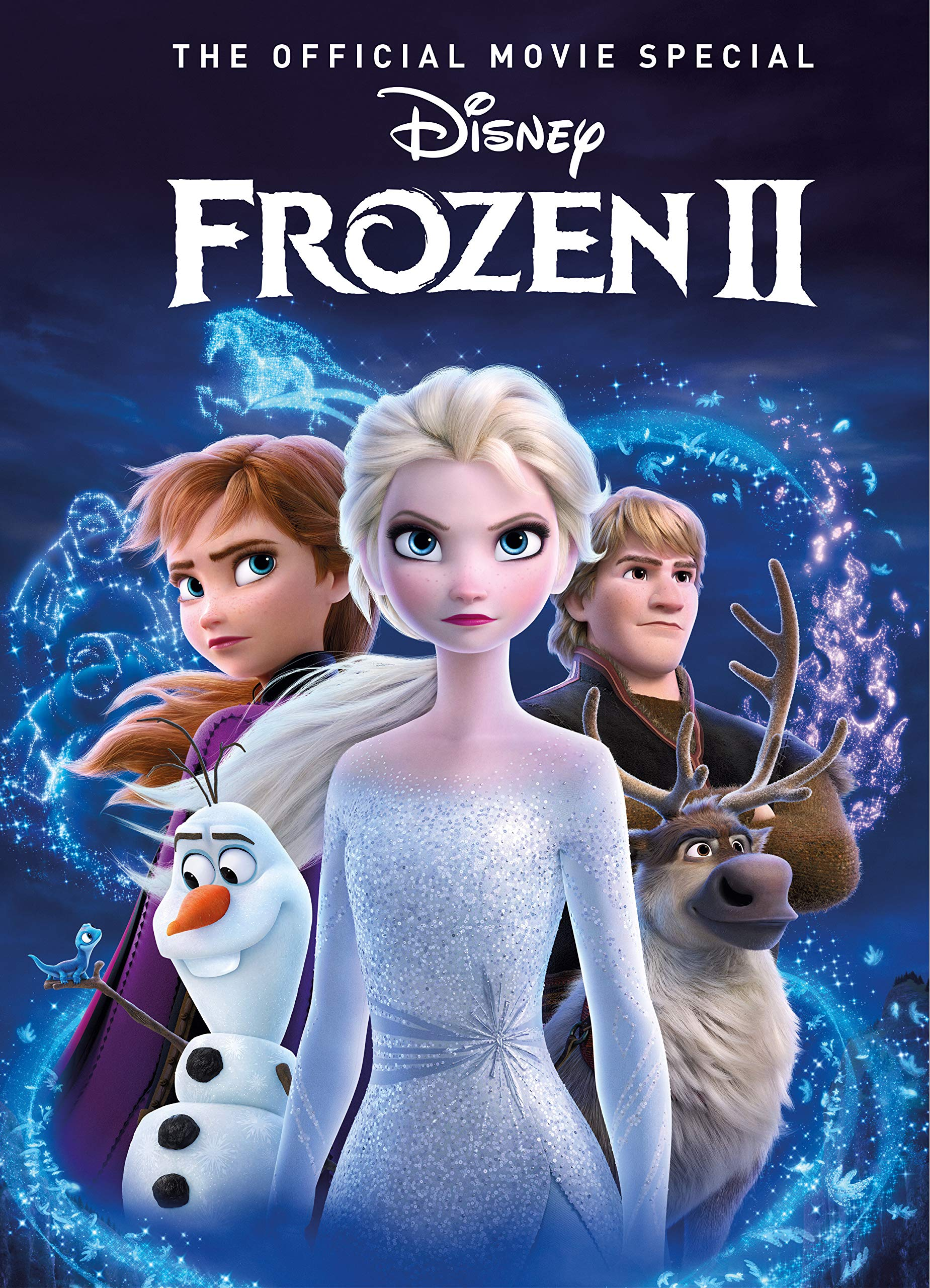 Amazon.com: Frozen 2: The Official Movie Special Book ...