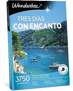 WONDERBOX Caja Regalo -Tres DÍAS con Encanto- 3.750 estancias Rurales para Dos Personas