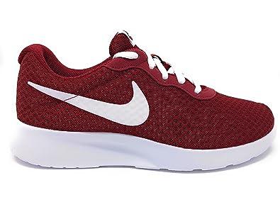 NIKE Womens Nike Tanjun 812655-604 TEAM RED WHITE Womens Size 11 a726681cd