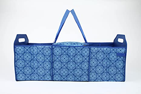 70dbc18b9328 Amazon.com  Sachi Insulated Trunk Organizer with Dividers (Blue ...