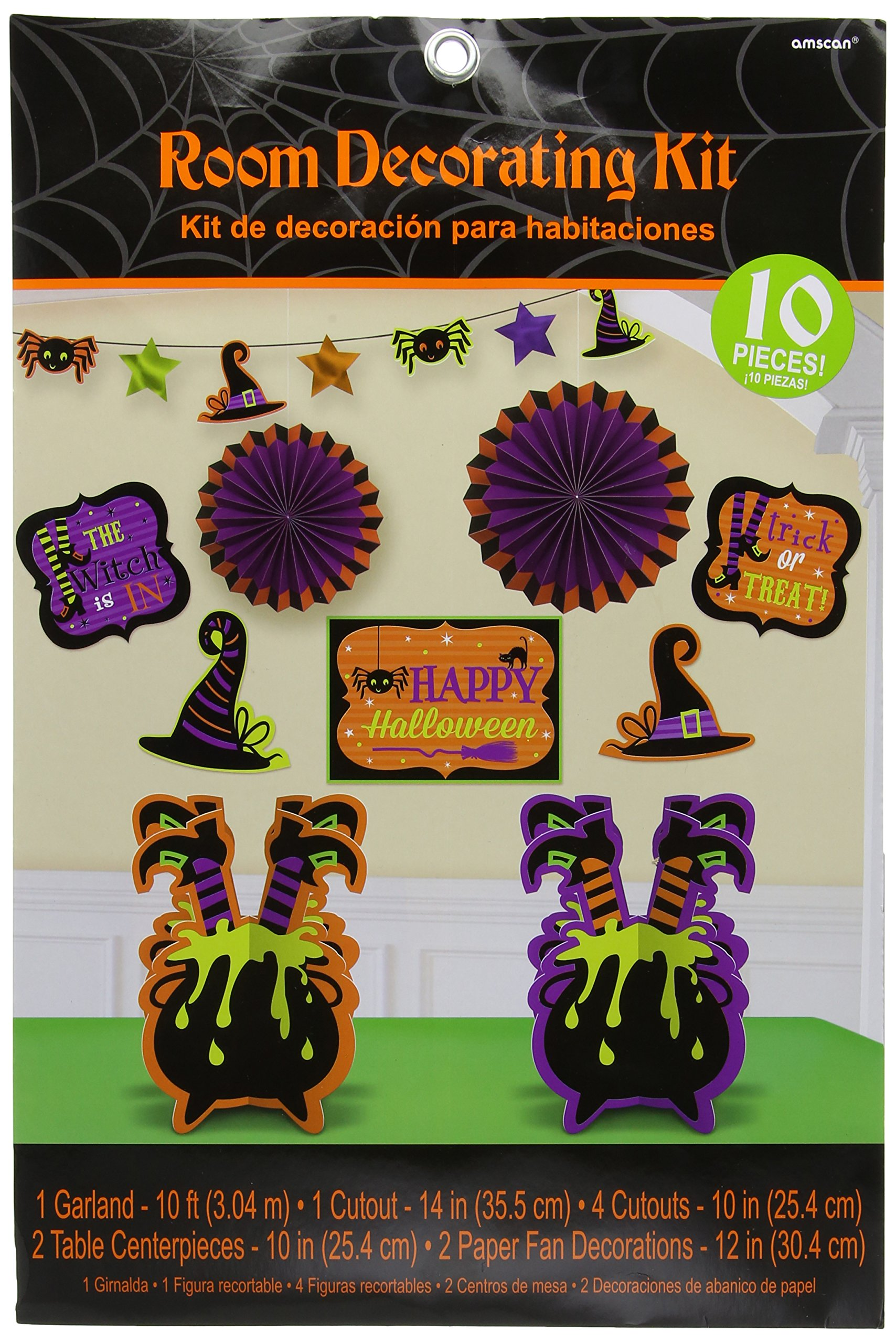 Amscan Witch Room Decorating Kit