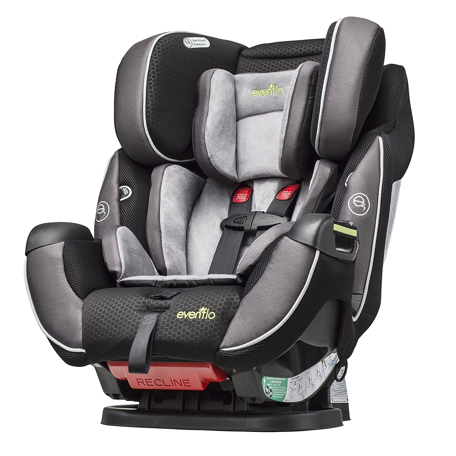 Evenflo Is Another Top Rated Brand When It Comes To Car Seats Their Symphony Elite All In One Convertible Seat A Proof For That And Practically