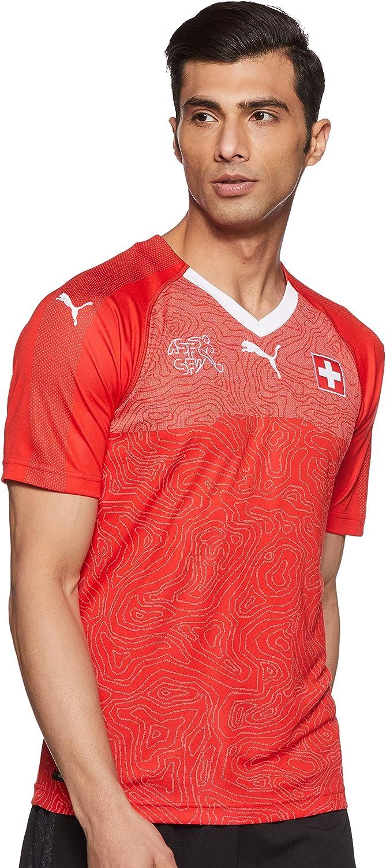 PUMA Camiseta de La Selección de Suiza - Camiseta Hombre: Amazon.es: Ropa y accesorios