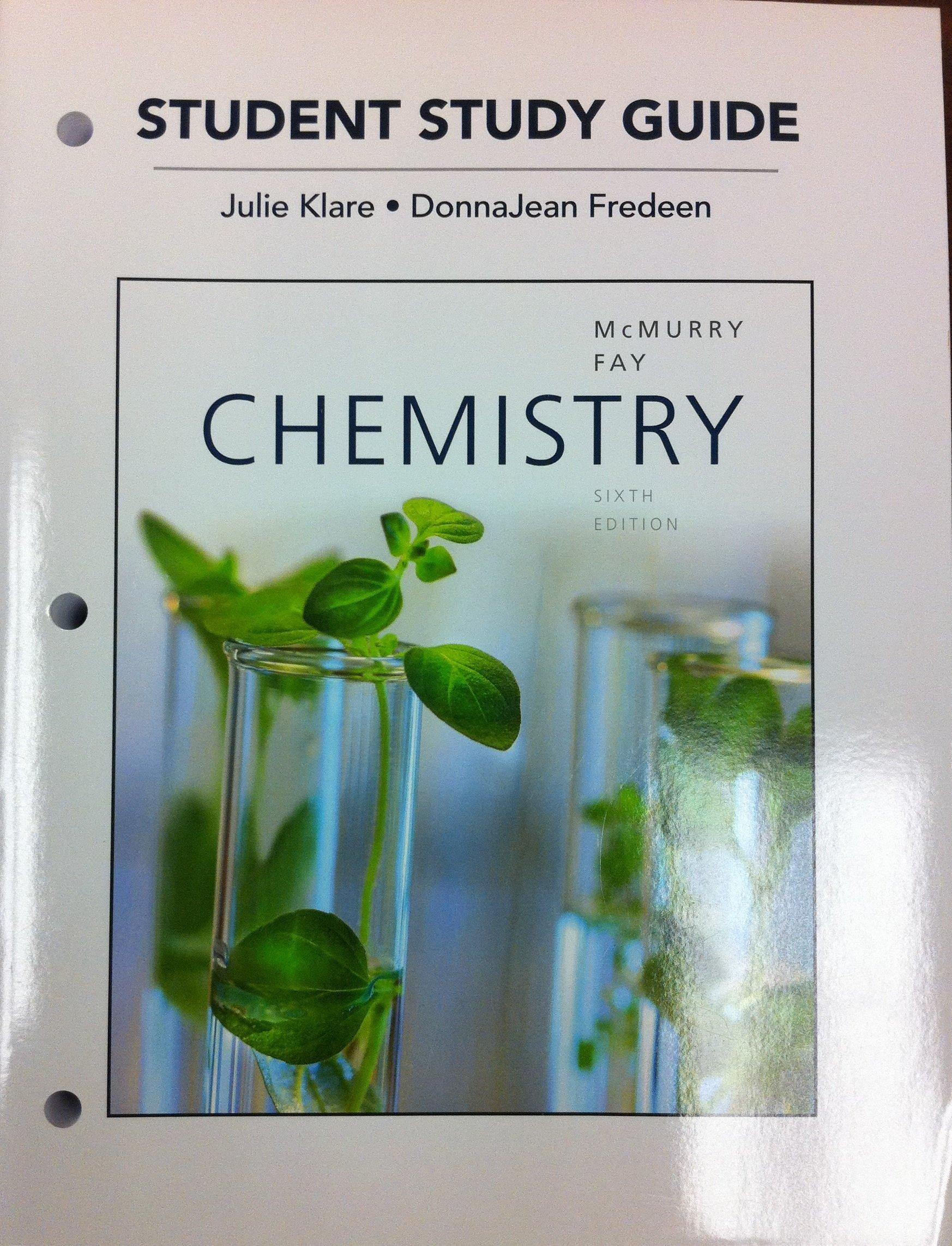 Chemistry, CHEM 1230/CHEM 1240 (University of Toledo): McMurry/Fay:  9781256817482: Amazon.com: Books