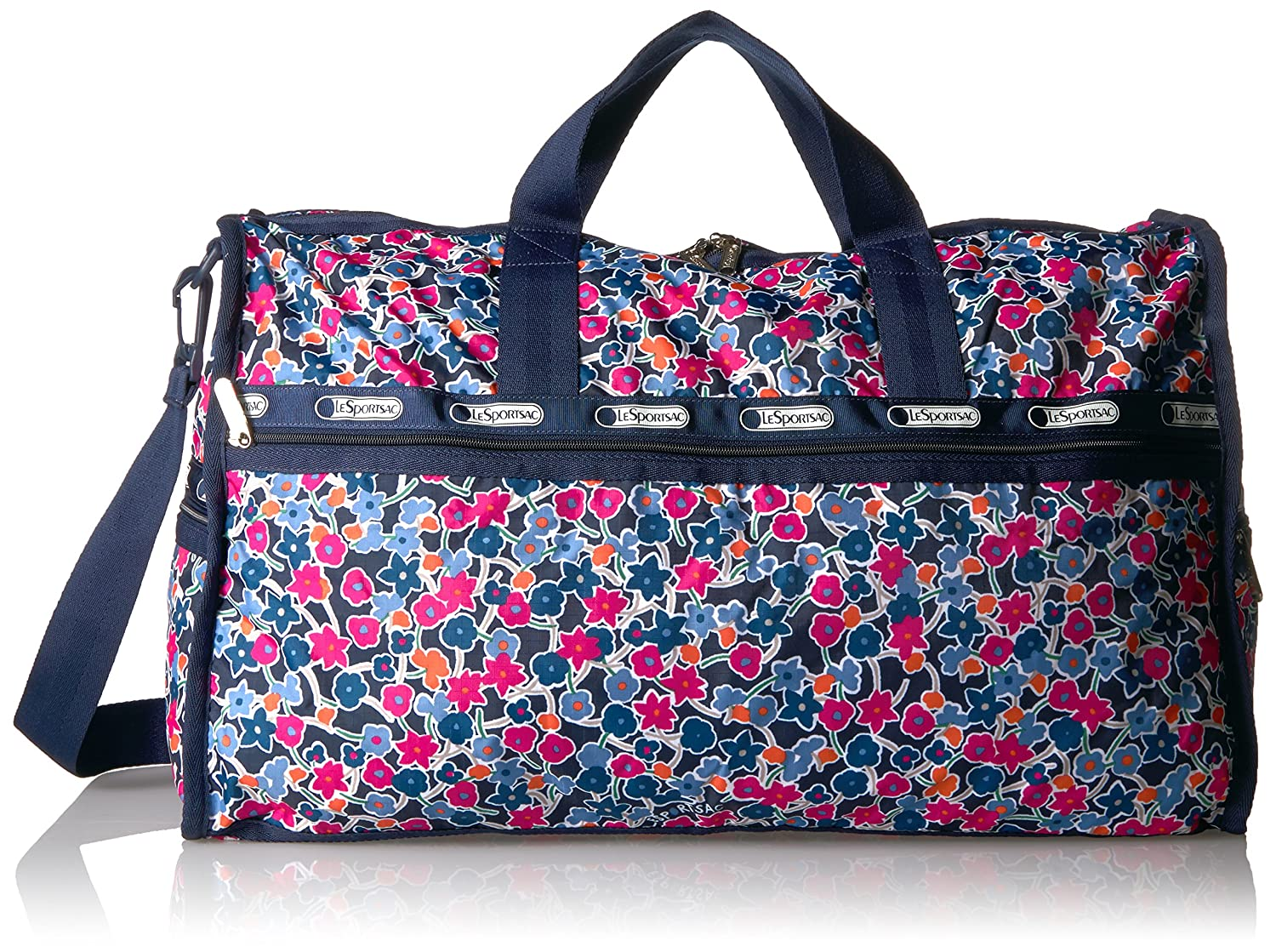 LeSportsac ユニセックスアダルト 7185 B06Y1BRFWJ One Size|Delightful Navy Delightful Navy One Size
