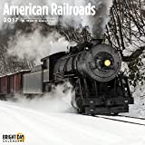 American Railroads 2017 16 Month Wall Calendar 12 x 12 inches Bright Day Calendars Publishing