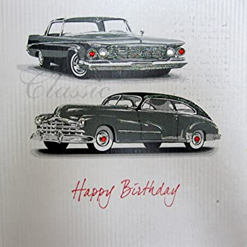White Cotton Cards Happy Birthday Handmade Birthday Card