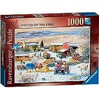Ravensburger 1000 Parça Puzzle Çiftlikte Kış RPB164783