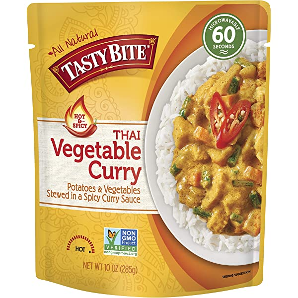HOT PACK SELF HEATING MEAL IN BOX VEGETABLE CURRY Pack of 24