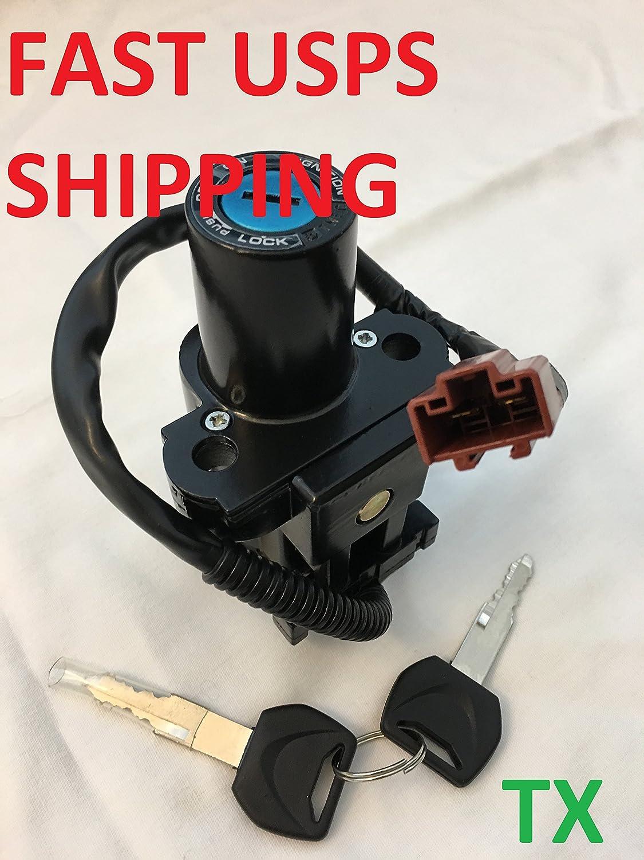 Amazon Com Ignition Switch Lock Keys For Honda Cbr600rr Cbr1000rr