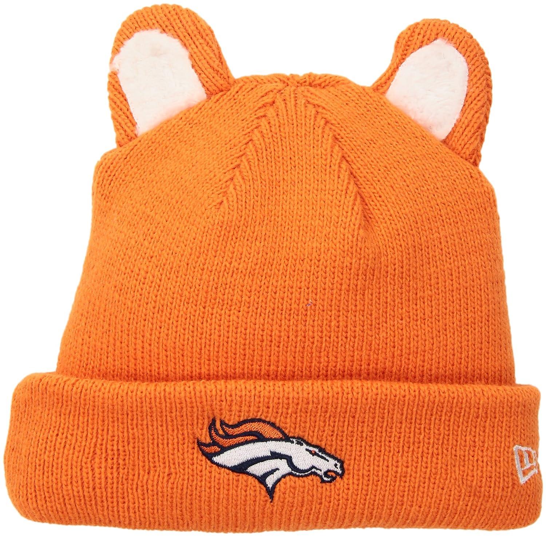 418c9ad75cf Amazon.com   NFL Denver Broncos Boy s Cozy Cutie Knit Beanie