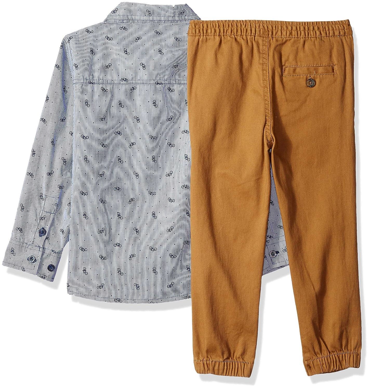Boys Short Sleeve Polo Assn U.S T-Shirt and Pant Set