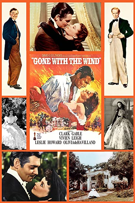 Amazon Com Xxl 20 X 30 Photo Collage Poster Gone With The