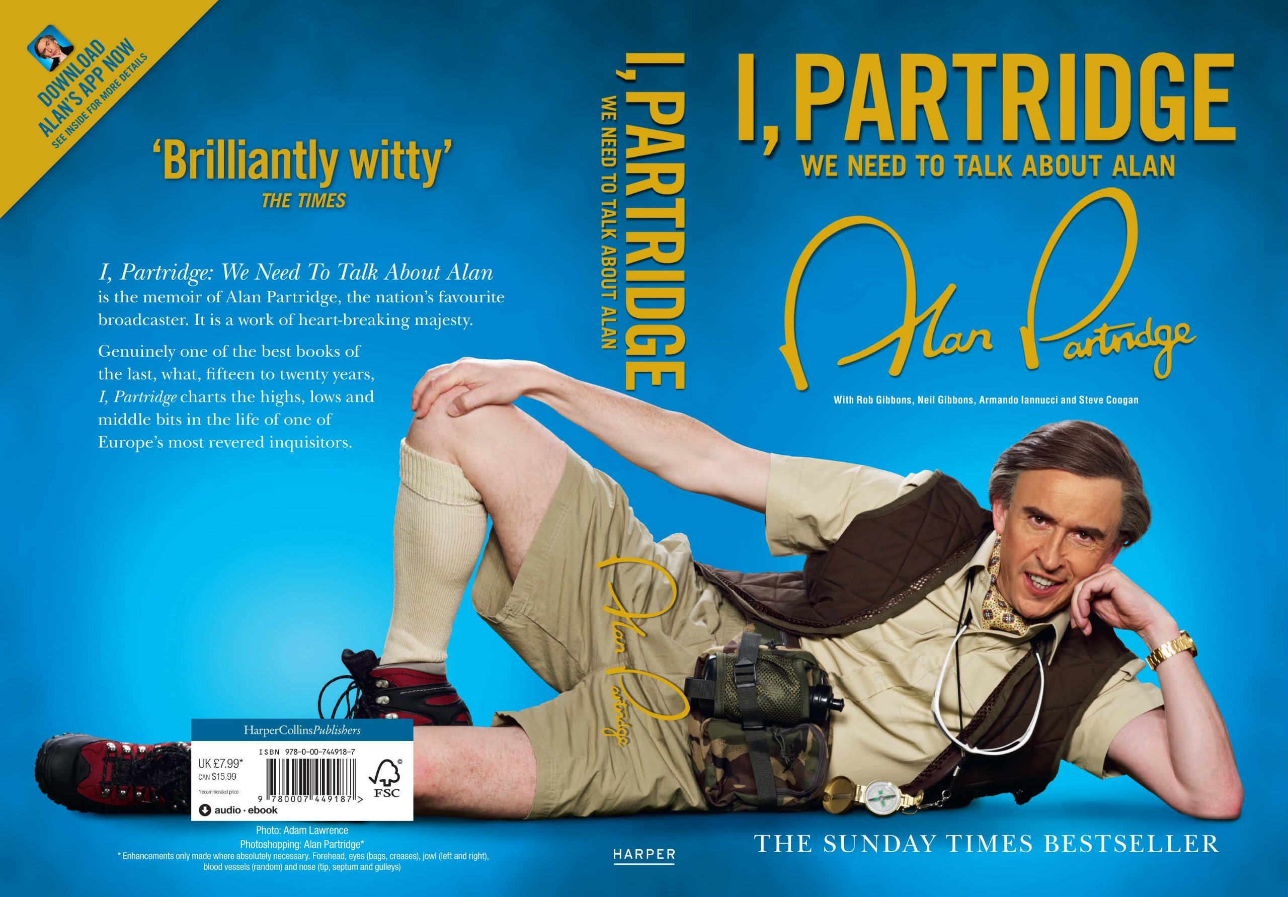 Image result for i partridge audiobook