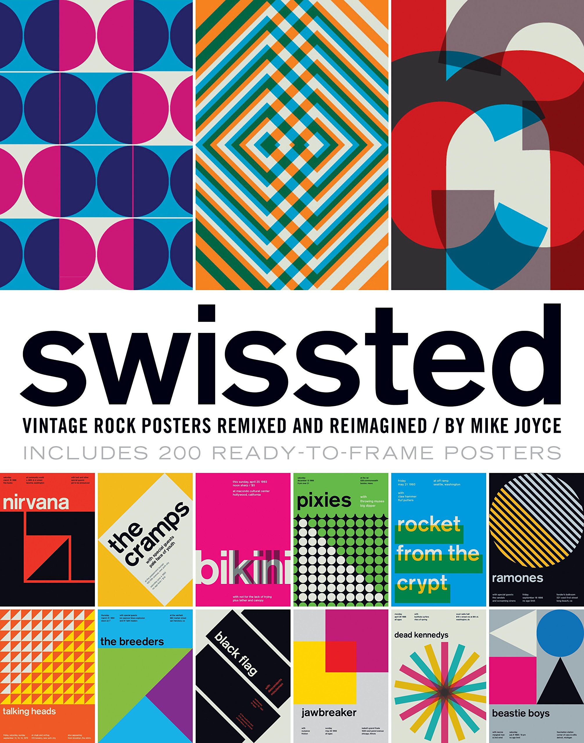 Swissted: Vintage Rock Posters Remixed and Reimagined: Mike