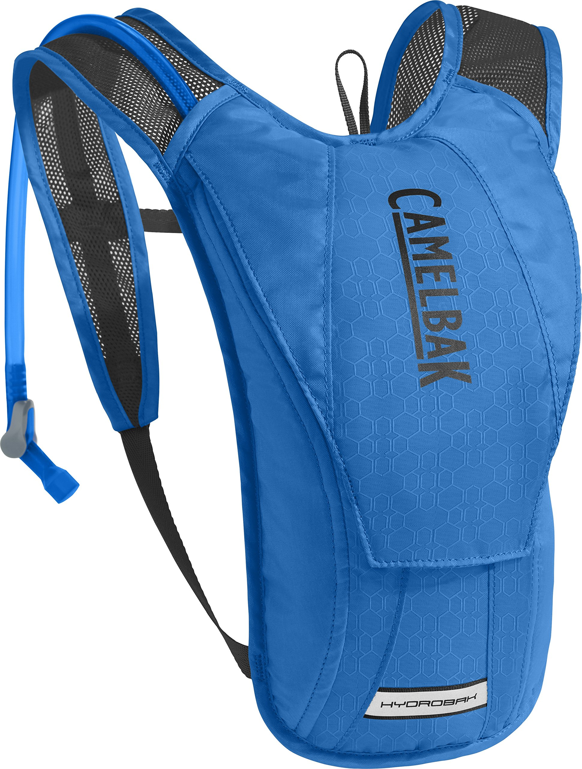 CamelBak HydroBak Crux Reservoir Hydration Pack, Carve Blue/Black, 1.5 L/50 oz by CamelBak
